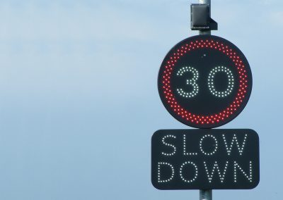Speed Activated Signs
