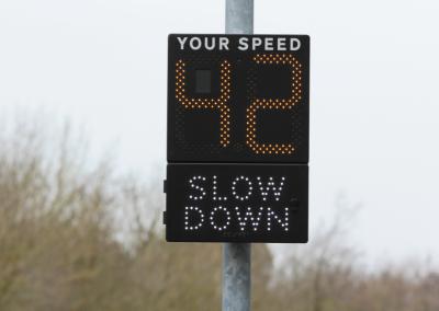 SAS Mobile 'Speed Indication Device'