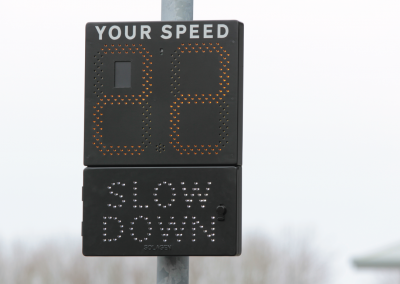 Road Safety Signs Speed Indication Device